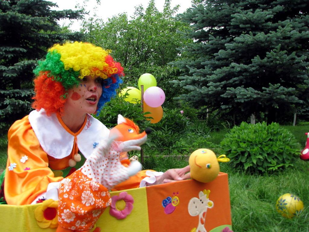 Детский праздник посвещеннный цветам Аниматоры Садовый переулок (деревня Постниково)